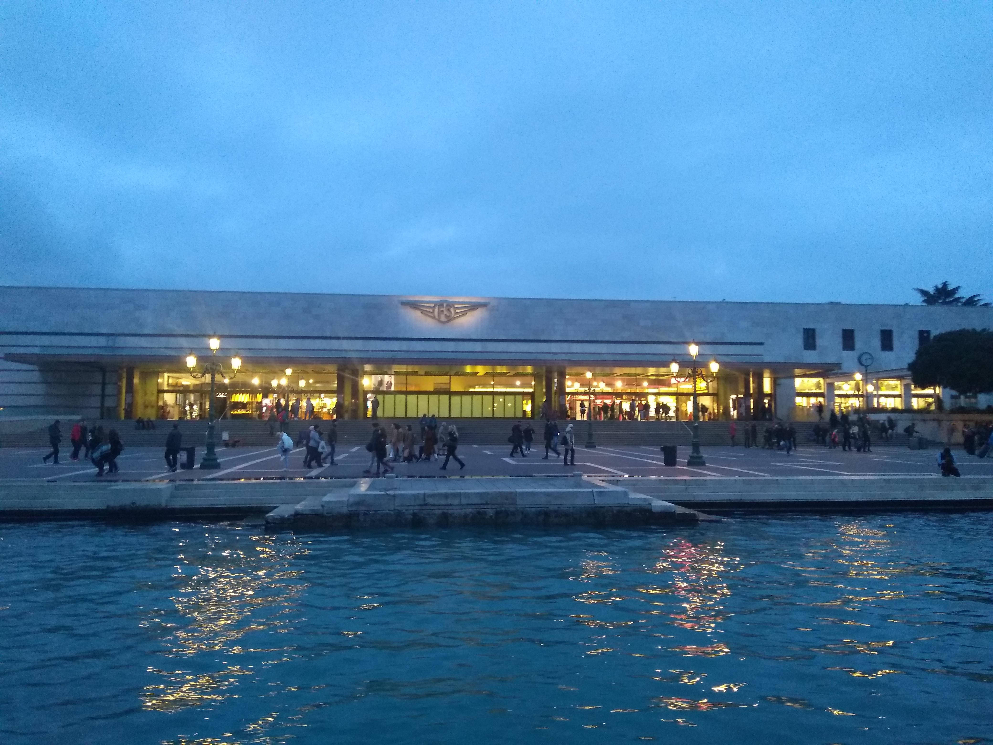 stazione s:a Lucia Venezia