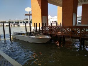 getting to venice by water