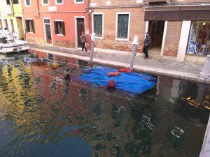 under water boat venice
