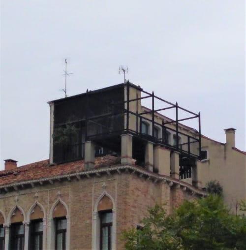 L'altana on a Venetian hous