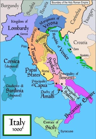 When was Venice built?